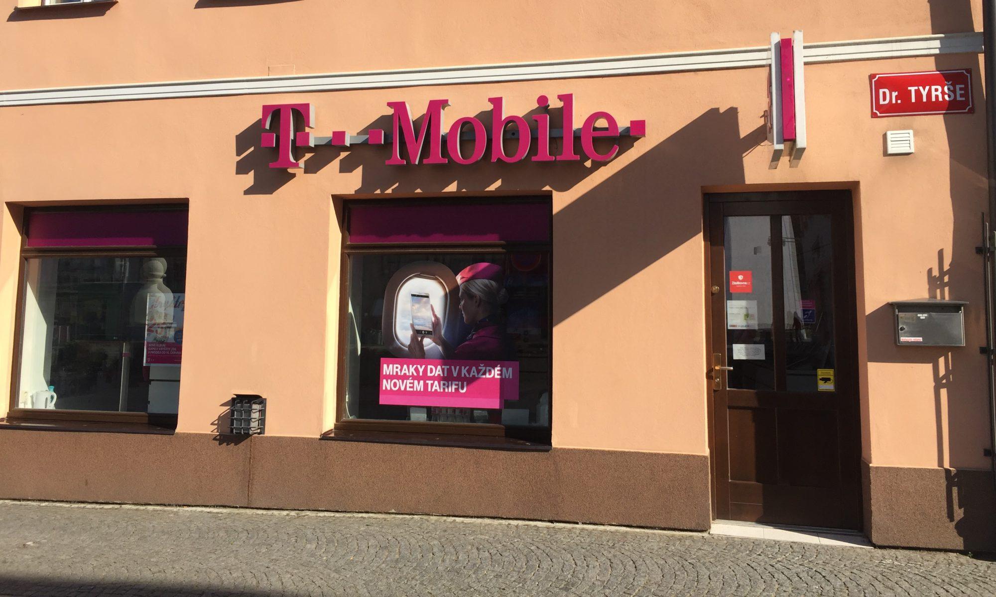 T-Mobile prodejny